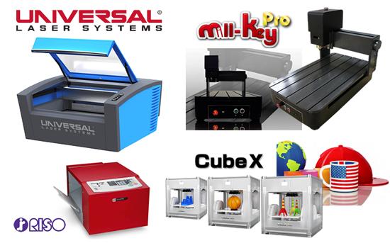 レーザー加工機と3Dプリンターのコラボレーション